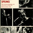 Nin, Anais. A Woman Speaks: The Lectures, Seminars, And Interviews Of Anais Nin