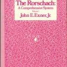 Exner, John E. The Rorschach: A Comprehensive System, Volume 1
