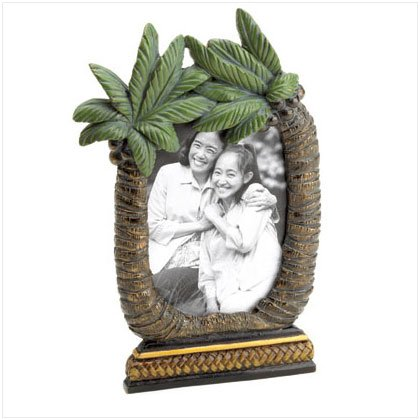 TROPICAL PALM TREE PICTURE FRAME