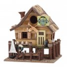 WOODEN YACHT CLUB BIRDHOUSE