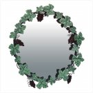 DECORATIVE GRAPE WALL MIRROR