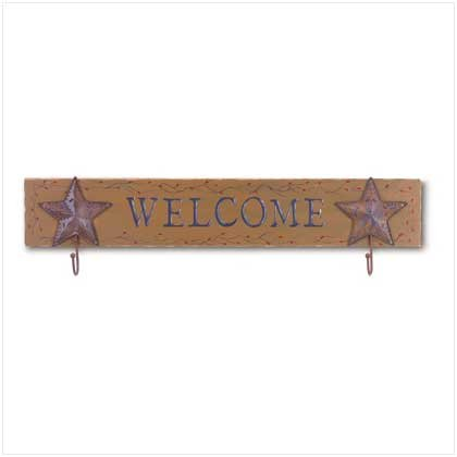 COUNTRY WELCOME WALL PLAQUE