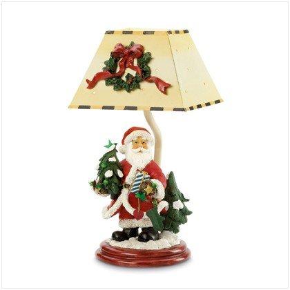 CHRISTMAS SANTA LAMP