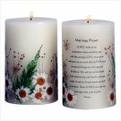 MARRIAGE PRAYER CANDLE (PILLAR)