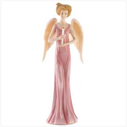 COURAGE BLESSING ANGEL FIGURINE
