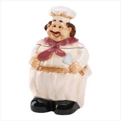 LE CHEF COOKIE JAR