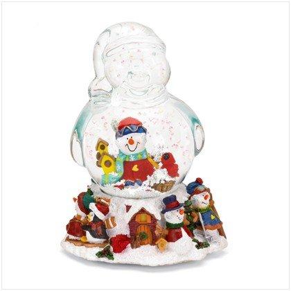 MUSICAL SNOWMAN SNOWGLOBE - CHRISTMAS COLLECTIBLE