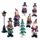 CHRISTMAS CAROLERS CHRISTMAS FIGURINES