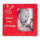 BABY'S FIRST CHRISTMAS PHOTO PICTURE FRAME