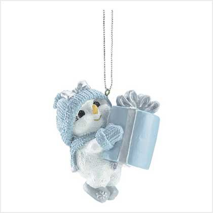 SNOWBUDDIES SNOWBABY ORNAMENT