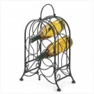 ARTISTIC WROUGHT IRON WINE HOLDER