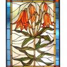 Trumpet Lily Window Panel