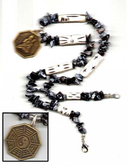 Oriental Peace Charm Necklace