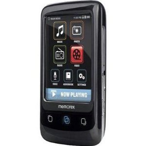 Memorex 8GB TouchMP digital media player