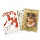 Michael Jordan Career Gold Foil Card - #9 -Defense Plyr