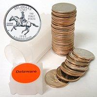 1999 Delaware Quarter Roll - Denver Mint