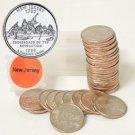 1999 New Jersey Quarter Roll - Denver Mint