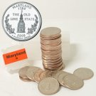 2000 Maryland Quarter Roll - Denver Mint