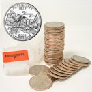 2002 Mississippi Quarter Roll - Denver Mint