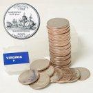 2000 Virginia Quarter Roll - Philadelphia Mint