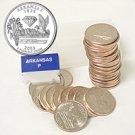 2003 Arkansas Quarter Roll - Philadelphia Mint