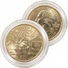 2001 Vermont 24 Karat Gold Quarter - Philadelphia