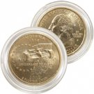 2002 Indiana 24 Karat Gold Quarter - Philadelphia