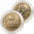 2003 Arkansas 24 Karat Gold Quarter - Denver