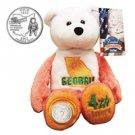 1999 Limited Treasures Quarter Bear - Georgia