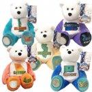 1999 Limited Treasures Quarter Bears - Set of 5