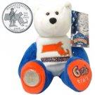2000 Limited Treasures Quarter Bear - Massachusetts