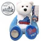 2000 Limited Treasures Quarter Bear - Virginia