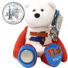 2001 Limited Treasures Quarter Bear - New York