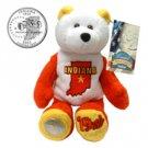 2002 Limited Treasures Quarter Bear - Indiana