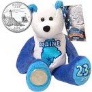 2003 Limited Treasures Quarter Bear - Maine