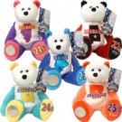 2003 Limited Treasures Quarter Bears - Set of 5