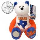 2004 Limited Treasures Quarter Bear - Texas