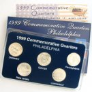 1999 Quarter Mania Uncirculated Set - Philadelphia Mint