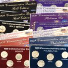 1999 Quarter Mania Uncirculated Set - Ultimate (6 Sets)