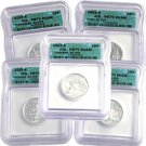 2002 Silver Quarter Proof Set - Certified 70