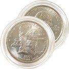 2001 New York Uncirculated Quarter - Denver Mint
