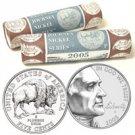 2005 Westward Buffalo Nickel Series GVT Roll Set