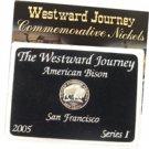 2005 Westward Buffalo Nickel - PROOF - Series I