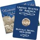 Buffalo Nickel ( 1913 - 1938 )  - Uncirculated