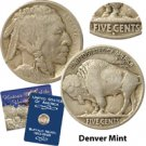 1914 Buffalo Nickel - Denver Mint