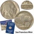 1923 Buffalo Nickel - San Francisco Mint