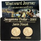 2005 Sacagawea P & D 2 pc Set - Satin Finish