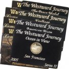 2004-2005 Westward Nickels 4 pc Proof Set