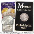 1878 Morgan Dollar - 7/8 TF - Uncirculated