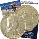 1950 Franklin Half Dollar - Philadelphia - Circulated